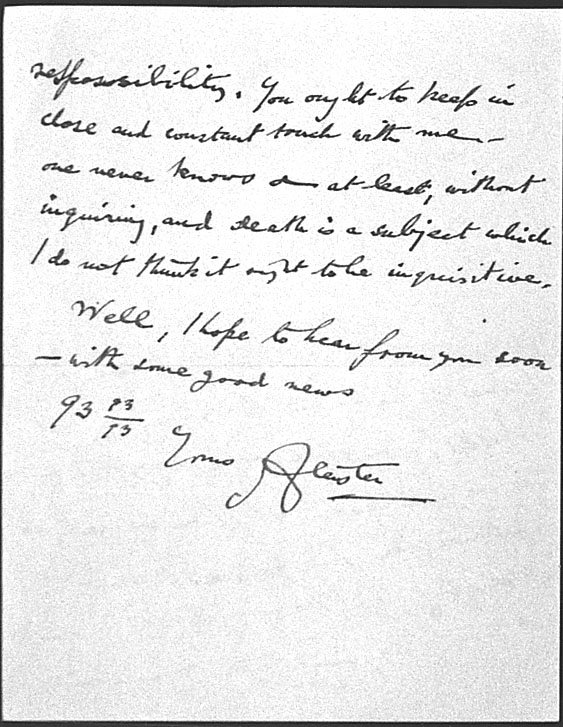 (04/07/1947) Aleister Crowley to Grady McMurtry #2