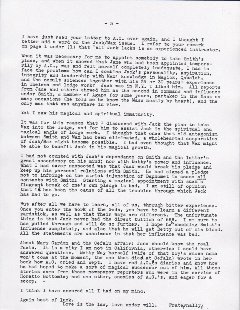 (02/02/1946) Karl Germer to Grady McMurtry (pg.3)